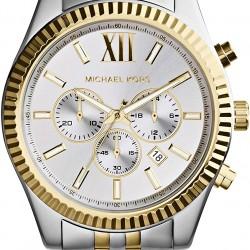 ساعة رسمية رجال انالوج بعقارب ستانلس ستيل - MK8344