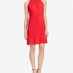 امريكن ليفنق فستان نسائي أحمر