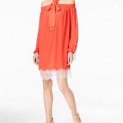 مايكل كورس فستان نسائي وردي